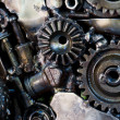 Supplies for industrial, technology gears Background — Stock Photo #35482177