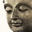 Buddhface makes of wax — Stock Photo #36046071