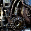 Stock Photo: Supplies for industrial, technology gears Background