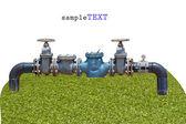 Water supply equipment — Foto de Stock