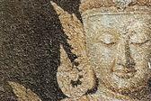 Buda yüz balmumundan hale getirir — Stok fotoğraf