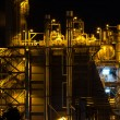 Stock Photo: Power station at night
