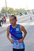 CHONBURI, THAILAND - DESEMBER 16: Unidentified runner competes o — Stock Photo