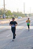 Chonburi, Tayland - desember 16: tanımlanamayan runner o yarışıyor — Stok fotoğraf