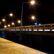 The light trails — Stok fotoğraf