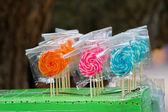 Lollipops - good for little kids — Stock Photo