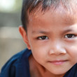 Portrait of a little boy with light and shadow treatment — Stock Photo #36347885