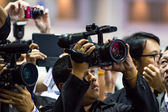 Fotografen nehmen ein Bild — Stockfoto