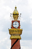 Clock tower at thailand — Stock Photo