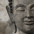 Buddhface makes of wax — Stock Photo #36503885