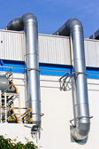 Facade of a modern factory — Stock Photo