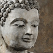 Buddhface makes of wax — Stock Photo #36764195