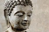 Visage de Bouddha fait de cire — Photo