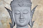 Ancient Buddha face, Ayutthaya, Thailand — Foto de Stock