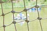 Fundo de turbina de água de rede de segurança — Foto Stock