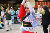 TOKYO, JAPAN-JUNE 2: Fukuro Matsuri festival in Ikebukuro. Conte — Stock fotografie