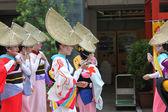Tokio, japonia-2 czerwca: fukuro matsuri festiwal w ikebukuro. conte — Zdjęcie stockowe