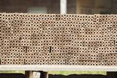 Raw bricks — Stock Photo
