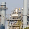 图库照片: Gas processing factory