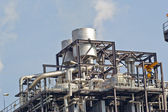 Natural Gas Combined Cycle Power Plant — Stock Photo