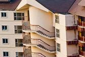 Modern appartement gebouw — Stockfoto