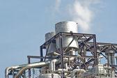 Zemního plynu kombinovaným cyklem elektrárna — Stock fotografie