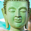 Ancient Buddhface, Ayutthaya, Thailand — Stock Photo #37762449