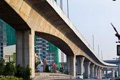Confusing highway Interchange with overpass. — Stockfoto