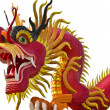 Chinese style dragon statue — Stock Photo #37871927