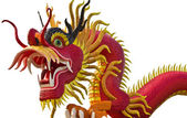 Chinese style dragon statue — Foto Stock