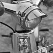 Stock Photo: Old motorcycle