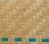Texture of bamboo weave, background — Foto Stock