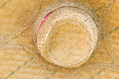 Hat woven from leaves. Objects of nature — Stock Photo
