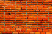 Povrch červených běžné cihlové zdi textury — Stock fotografie