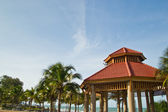 Tropical pavilion at rayong thailand — Stock Photo