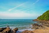 The stone on the beach — Zdjęcie stockowe