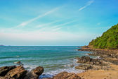 The stone on the beach — Stockfoto