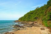Kámen na pláži — Stock fotografie