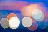 Cirkulär bokeh bakgrund — Stockfoto