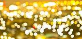 Abstract circular bokeh lights background of Christmaslight. — Stock Photo