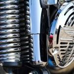 Motorcycle engine — Stock Photo #39144589