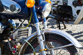 Vintage Motorcycle detail — Photo