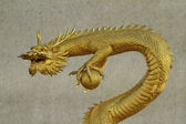 Chinese style dragon statue at chonburi — Stockfoto