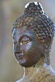 Buddha decayed head — Stock Photo