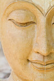 Buddha respectable face — Stock Photo