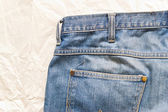 Abstract texture jeans — Stock Photo
