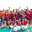 Group team footballer youth woman team Chonburi picture — 图库照片 #40013193