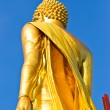 Stock Photo: Walking Buddhstatue