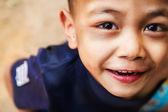 Close up of child eyes looking at camera — Stock Photo