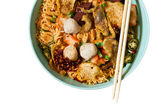 Asian noodles — Foto Stock